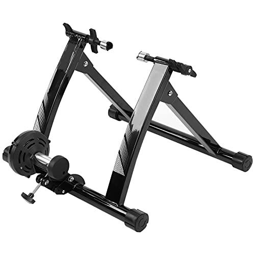 Turbo Trainer, Entrenador De Bicicleta Interior Magnético Inalámbrico Con Rueda De Reducción De Ruido, Soporte De Bicicleta Para Entrenamiento De Bicicleta Interior De Bajo Ruido Para Montar En Interi
