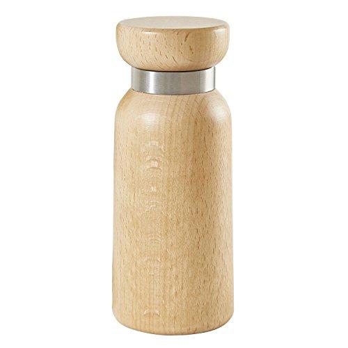 Buonostar kruidenmolen/pepermolen/zoutmolen van hout met keramisch maalwerk. Natuurlijk licht | traploze regeling van de maalsterkte van grof tot fijn. | Kwaliteitsgarantie: 20 jaar garantie