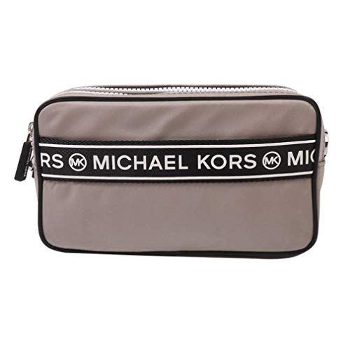Made of Nylon; Zip top closure; Front zip pocket; Back open pocket 1 inside pocket; 21 to 23 inches Long removable strap Silver hardware Measurements: Length: 8 x Height: 6.5 x Width: 3 Inches Comes with original tags