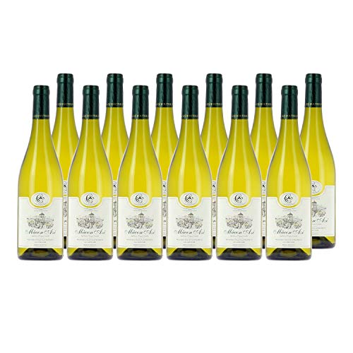 Mâcon Azé Weißwein 2018 - Cave d'Azé - g.U. - Burgund Frankreich - Rebsorte Chardonnay - 12x75cl
