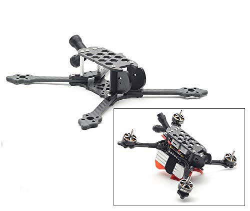 5 inch 220 FPV Racing Frame Carbon Fiber Quadcopter Drone Frame Kit Quad for DJI Digital FPV System Features 5mm Removable arms