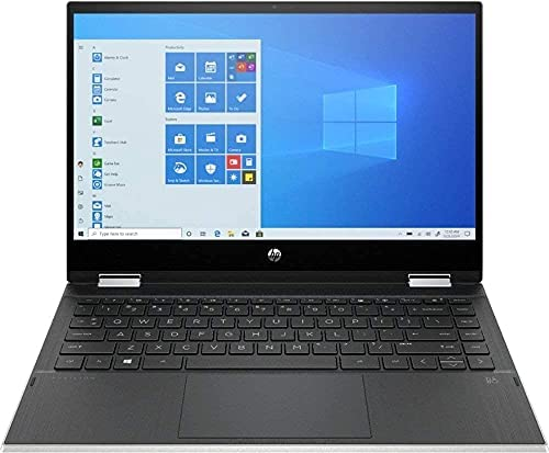 """HP Pavilion x360 2-in-1 14"""" Touch-Screen Laptop, 11th Gen Intel Core i3-1115G4 Upto 4.1GHz(Beats i7-8550U),32GB 3200Mhz DDR4 RAM, 1024GB PCIE SSD, Win10 H, Natural Silver (14m-dw1013dx) WeeklyReviewer"""