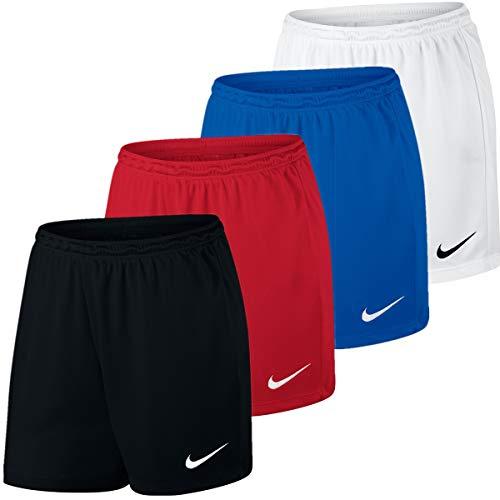 NIKE W Nk Dry Park III Short NB K Pantalones Cortos de Deporte, Mujer, White/Black, S