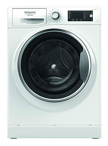 Hotpoint NLLCD 946 WC A EU, Lavatrice a Carica Frontale a Libera Installazione, A+++-30%, 9kg 1400 Giri/Min