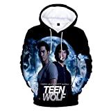 Men's/Women's 3D Print Teen Wolf TV Show Hoodie Sweater Pullover T Shirt Tee with Front Pocket