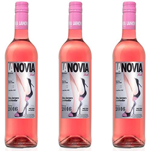 La Novia Ideal Vino Rosado - 3 botellas x 750ml - total: 2250 ml