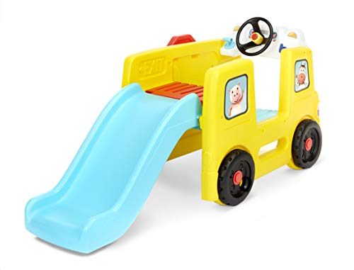 Little Baby Bum Wheels on the Bus Climber and Slide with Interactive Musical Dashboard by Little Tikes