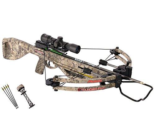 Parker Bows 18 Thunderhawk Pro Crossbow Pkg w/Illuminate MultiReticle Scope
