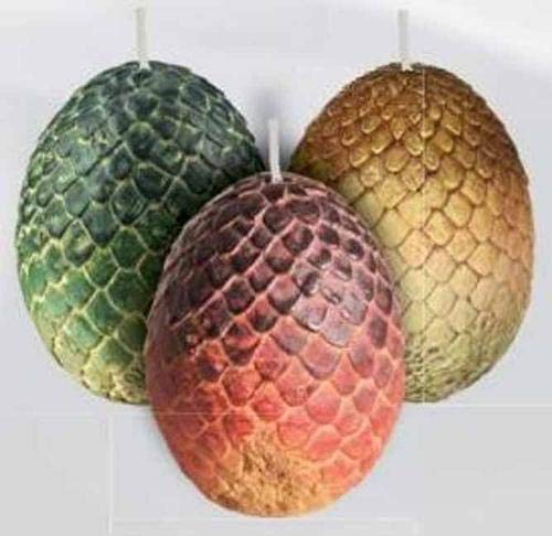 Insight Editions: Game of Thrones: Sculpted Dragon Egg Candl (Game of Thrones Candle)