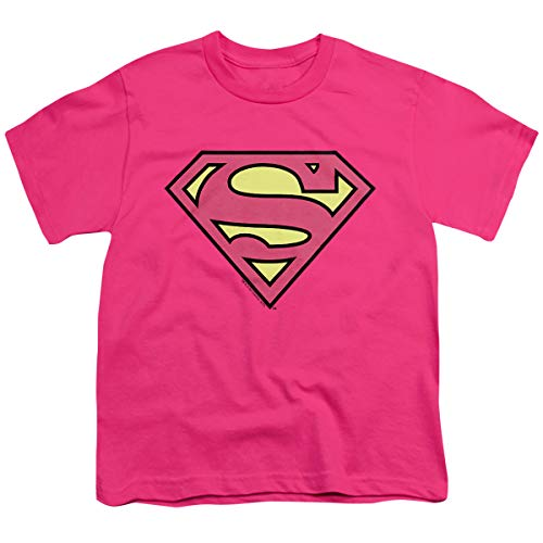 DC Comics Supergirl Kids Pink Symbol T-Shirt- Toddler 4T