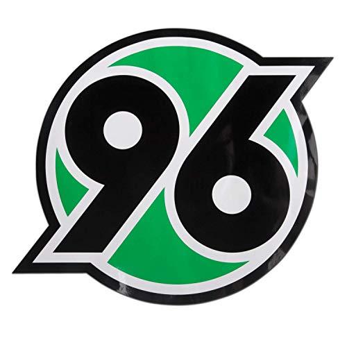Hannover 96 Aufkleber XXL Logo, Maxi Sticker, Autoaufkleber H96 - Plus Lesezeichen I Love Hannover