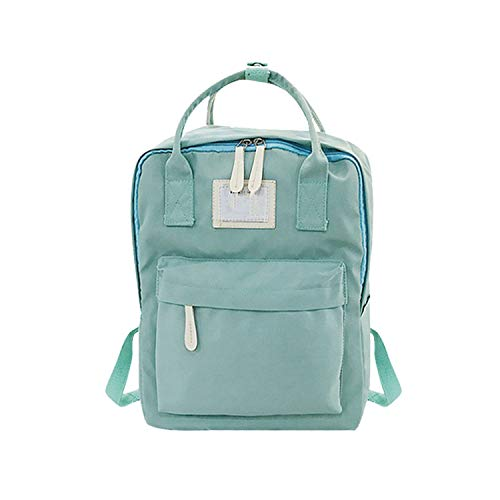 Fashion Lady Student Canvas Shoulder Bag Schoolbag Bag Tour Backpack #Yl5,Green
