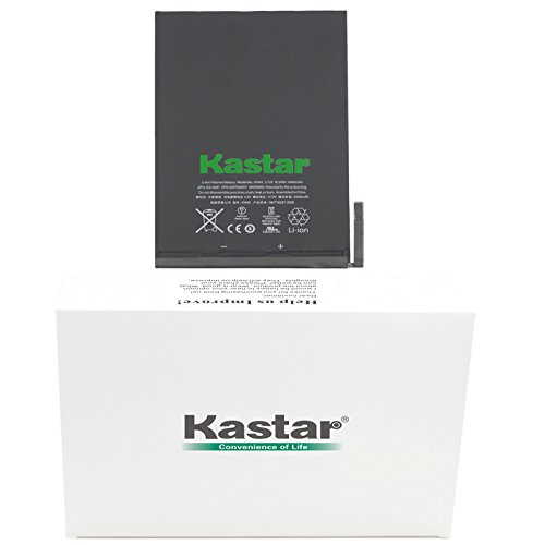 Kastar Replacement Internal Battery iPad Mini1 (1st Generation iPad Mini) Fixes for Apple 616-0627, 616-0633, 616-0688 and Apple A1432, A1445, A1454, Apple iPad Mini, iPad Mini Retina, iPad Mini WiFi