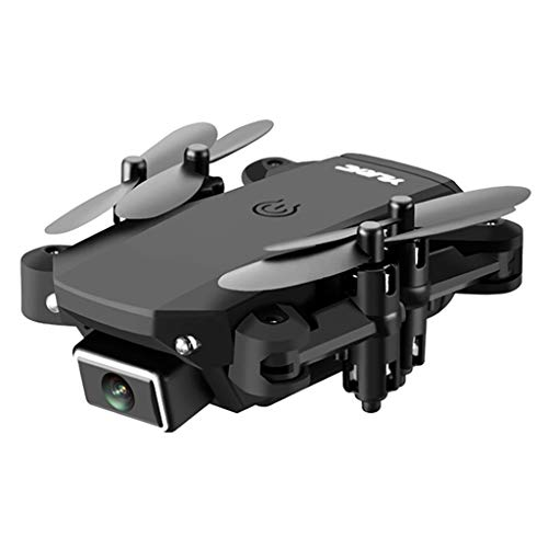 F Fityle Drone FPV RC con Videocamera HD Video Live Quadricottero WiFi Grandangolare 120 ° con modalità Senza Testa 3D in Attesa Dell'altitudine, Lungo Raggio - Nero Nessuna Telecamera