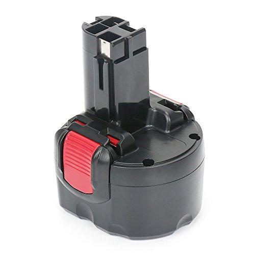 Bosch Batería de 7.2V, batería de repuesto NIMH REEXBON 3.0Ah para la herramienta eléctrica Bosch 2607335437, 2607335587, 2607335765, 2607335766, 2607335838, BH-744, B-8308, GSR 7.2-2, GSR 7.2-1