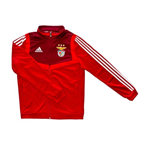 adidas - SL Benfica - Casaco Tiro Pre CR 19/20 (Cl9771) Chaqueta, Unisex niños, Rojo, 10 años