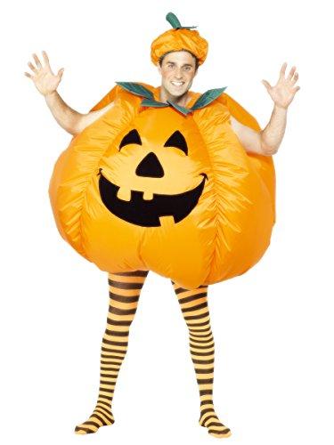 Generique - Aufblasbares Kürbis-Kostüm Halloween für Erwachsene