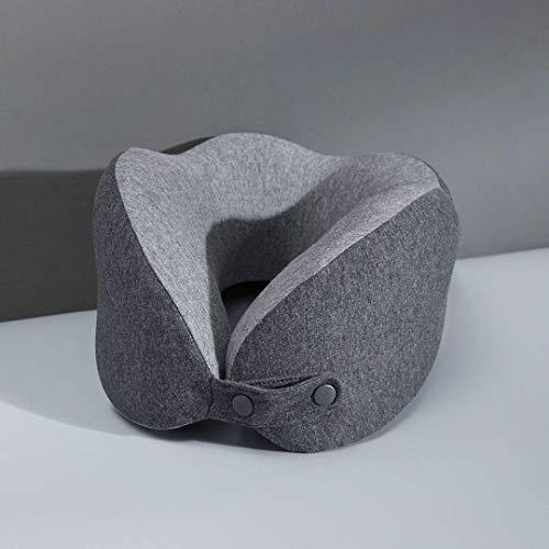 Memoria de rebote lento Algodón U en forma de cuello en forma de almohada 3D Portátil transpirable ola suave almohada Inicio Office Viajes desde XIAOMI Tu pin