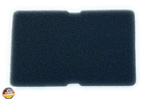 Filter Droger, warmtepompdroger, sponsfilter, filtermat, condensdroger, voor Beko Grundig Blomberg ElektraBregenz, 240 x 150 x 10 mm, pluiszeef pluisfilter 2964840100, schuimfilter