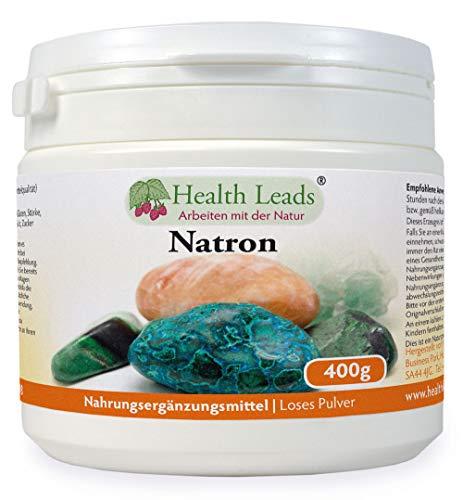 Natron (Loses Pulver) 400g, Optionen für mehrere Größen