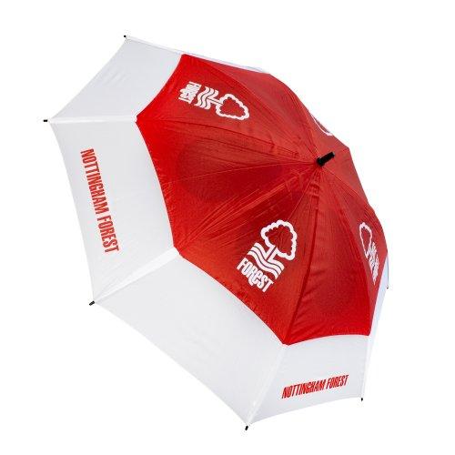 Nottingham Forest Tour Vent Golf Umbrella - Red/White