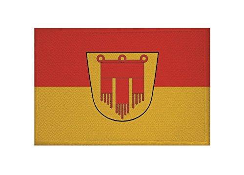 U24 Aufnäher Böblingen Fahne Flagge Aufbügler Patch 9 x 6 cm