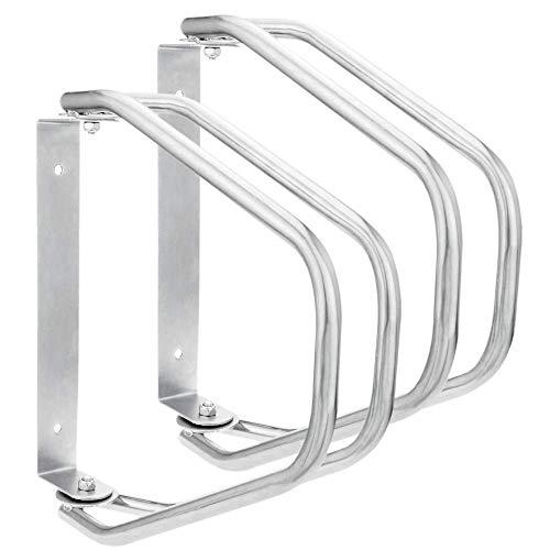 PrimeMatik - Parcheggio orientabile per 2 Biciclette Supporto portabiciclette per Muro