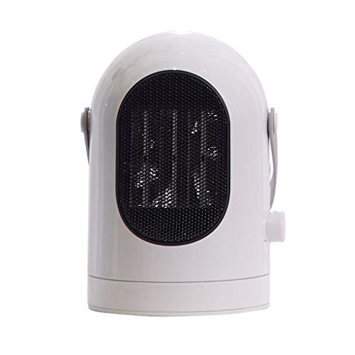 Mini-appareil de chauffage électrique domestique de bureau chauffant trois secondes de chaleur, tête à grand angle, à double usage, vidage, mise hors tension automatique