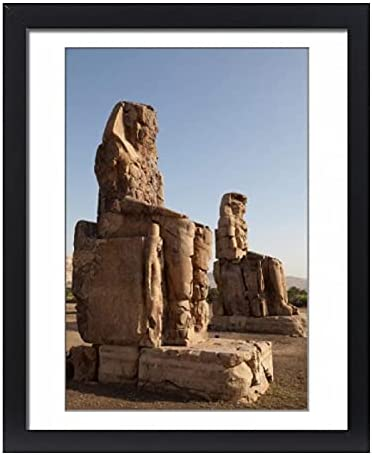 robertharding Max 86% OFF Framed overseas 20x16 Print of Memno Colossi The Ancient