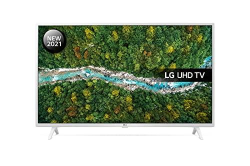 LG Electronics 43UP7690 Blanc Téléviseur UHD 4K de 108 cm