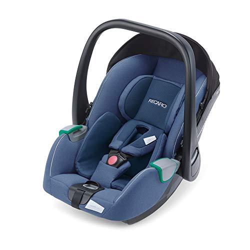 RECARO Kids, Babyschale Avan, i-Size 40-83 cm, Babyschale 0-13 kg, Kompatibel mit der Avan/Kio Base (i-Size), Verwendung mit Kinderwagen, Einfache Installation, Hohe Sicherheit, Prime Sky Blue