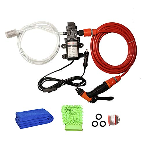 liuchenmaoyi Aquariumzubehör Hochdruck-Elektroautowäsche Waschmaschine 6L / min Selbstansaugende Wasserpumpe 12V Waschmaschine Aquarium