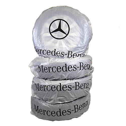 4 Stück Mercedes-Benz Reifenhülle I Original I Beschriftbar I Bis 20 Zoll I B66470994
