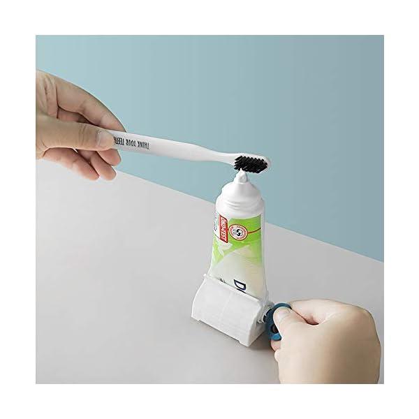 X-BLTU 7 Piezas Tubo de Pasta de Dientes Enrollable Exprimidor Clips de