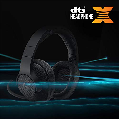 Logitech G433 Auriculares Gaming con Cable, Sonido 7.1 Surround, DTS Headphone:X,...
