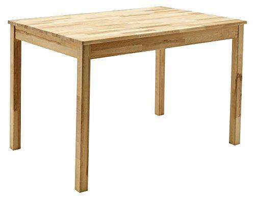 Robas Lund Tisch Esszimmertisch Massivholz Kernbuche, Alfons BxHxT 110 x 76 x 70 cm