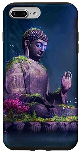 iPhone 7 Plus/8 Plus Retro Vintage Buddha Buddhism Meditation Yoga Lovers Gift Case