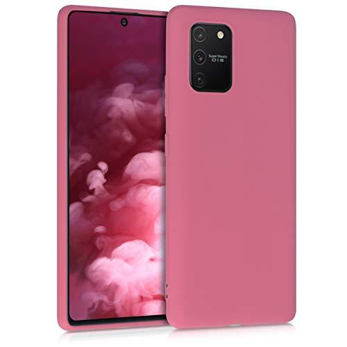 kwmobile Hülle kompatibel mit Samsung Galaxy S10 Lite - Handyhülle - Handy Case in Deep Rusty Rose