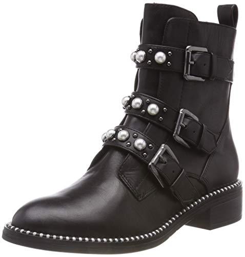 Tamaris Damen 25396-21 Biker Boots, Schwarz (Black 1), 39 EU