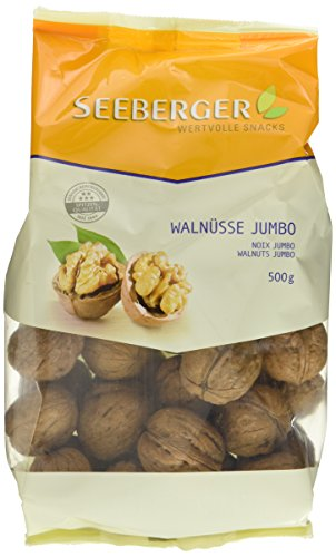 Seeberger Walnüsse Jumbo, 10er Pack (10 x 500 g Packung)