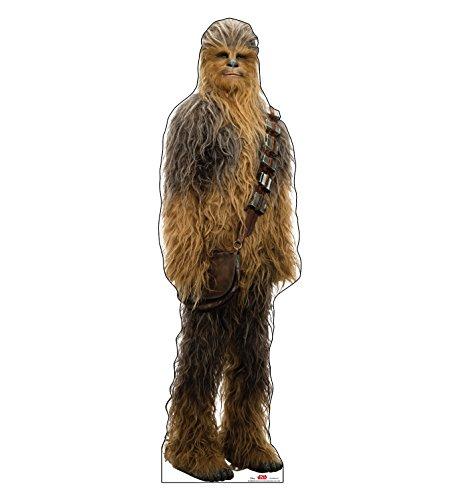Advanced Graphics Chewbacca Life Size Cardboard Cutout Standup - Star Wars: Episode VIII - The Last Jedi (2017 Film)