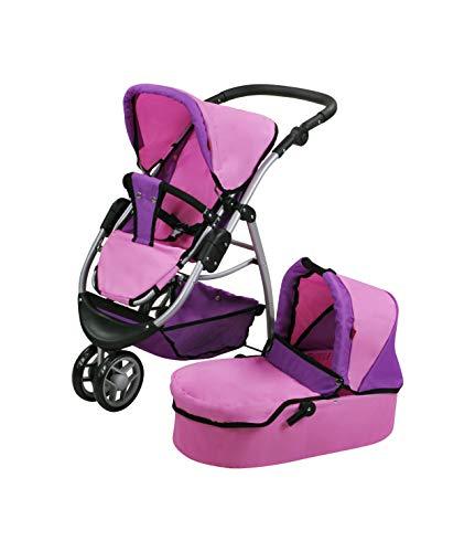 Knorrtoys 90446 - Puppenwagen Cico - Pink Purple