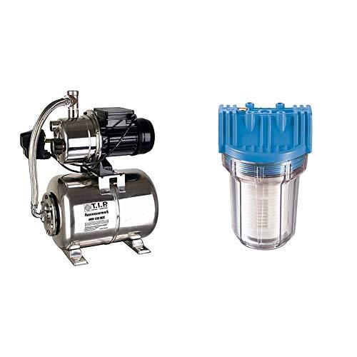 T.I.P. 31140 HWW 4500 INOX Hauswasserwerk & Güde 94460 Schmutzfilter Kurz Sandfilter Vorsatzfilter