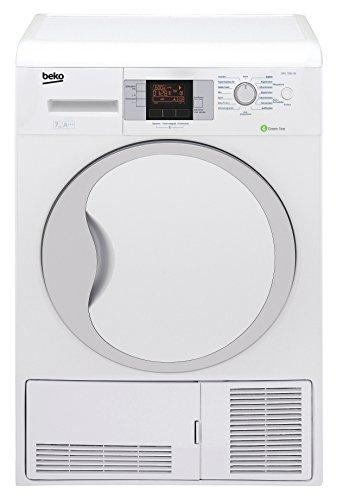Beko DPU 7306 XE Wärmepumpentrockner / A+++ / 7kg / FlexySense Feuchtigkeitssensor / Trommelbeleuchtung / Automatischer Knitterschutz / Reversierende Trommelbewegungen