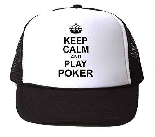 Poker Casino spel houden kalm en spelen kwaliteit unisex honkbal pet hoed Snapback