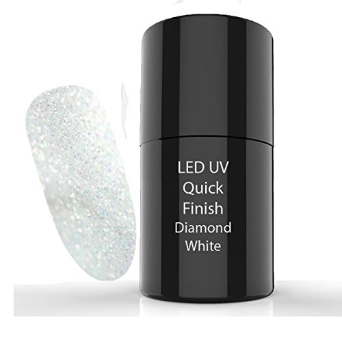 UV/LED Quick Finish Gel Diamond White 5 ml