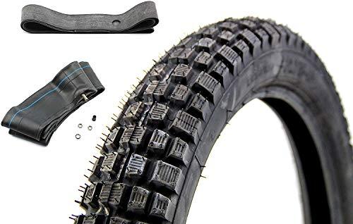Set Heidenau K46 Reifen 2,75 x 16 Zoll 46M M/C TT + Schlauch + Felgenband für Simson, Enduro und andere Krafträder