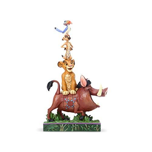 Enesco Disney Traditions Balance of Nature - Figura Decorativa de El Rey León, Multicolor, Talla Única