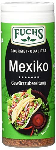 Fuchs Gewürze Mexiko Gewürzzubereitung - in der praktischen Streudose, 4er Pack (4 x 45 g)