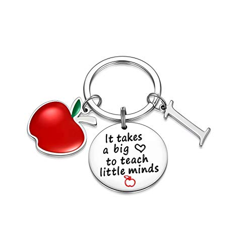 Teacher Gifts for Women, Teacher Keychain Gifts for Teacher from Students(I)